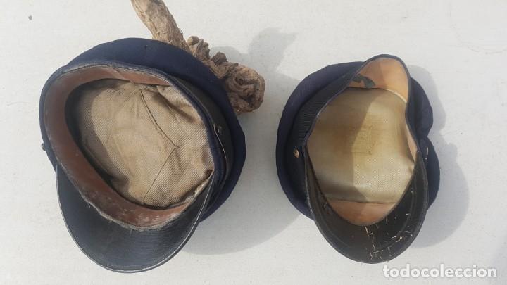 Antigüedades: Pareja de antiguos sombreros - Foto 2 - 174961035