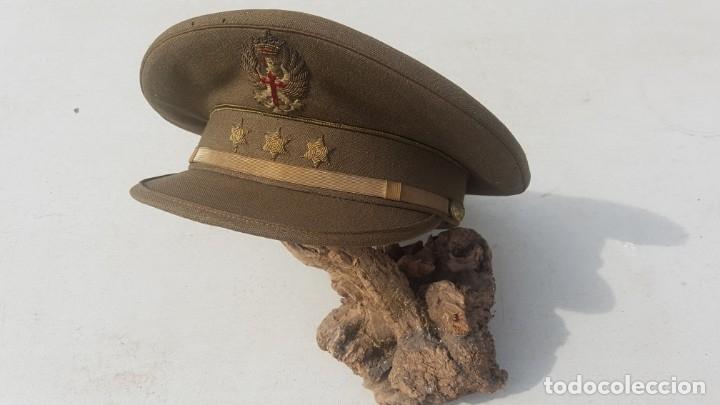 SOMBRERO MILITAR (Antigüedades - Moda - Sombreros Antiguos)