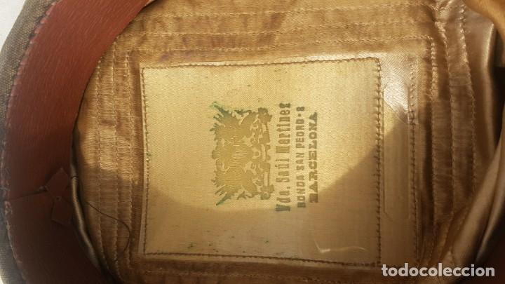 Antigüedades: Sombrero militar - Foto 2 - 174961539