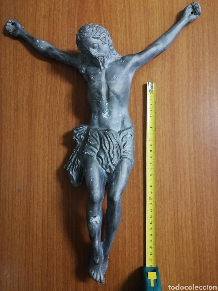 CRUCIFIJO BRONCE (Antigüedades - Religiosas - Crucifijos Antiguos)