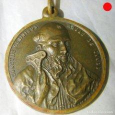 Antigüedades: MEDALLA MUY ANTIGUA DE SANTO DOMINGO DE SILOS. Lote 174990934