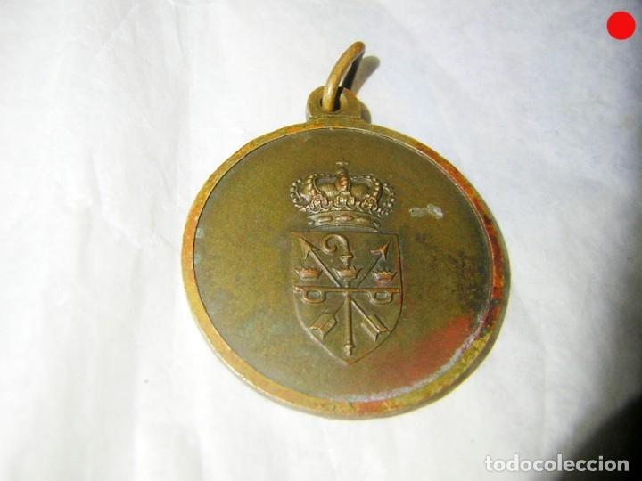 Antigüedades: MEDALLA MUY ANTIGUA DE SANTO DOMINGO DE SILOS - Foto 2 - 174990934