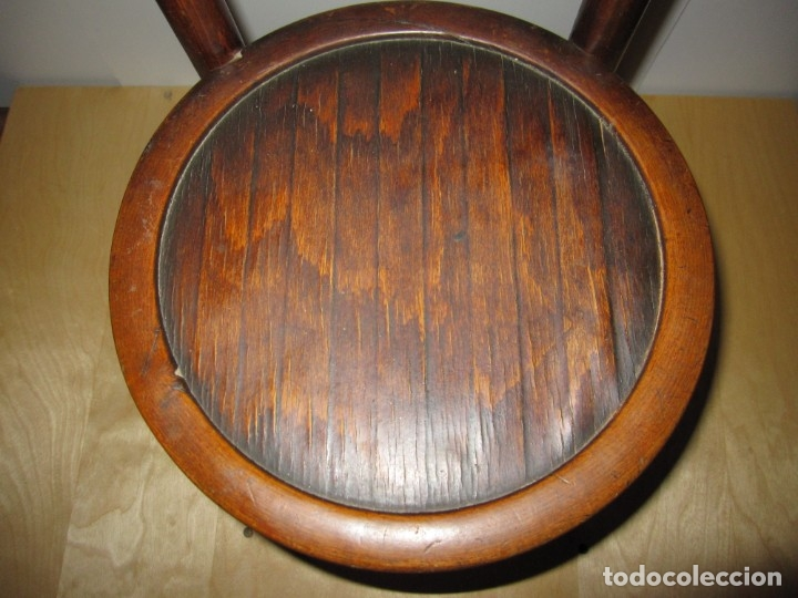 Antigüedades: Silla sillita antigua thonet madera Franco Tormo (1865-1941) - Foto 8 - 175021404