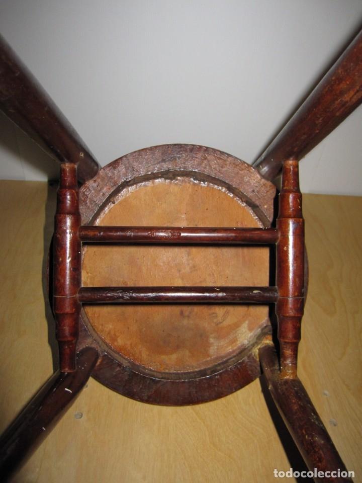 Antigüedades: Silla sillita antigua thonet madera Franco Tormo (1865-1941) - Foto 11 - 175021404