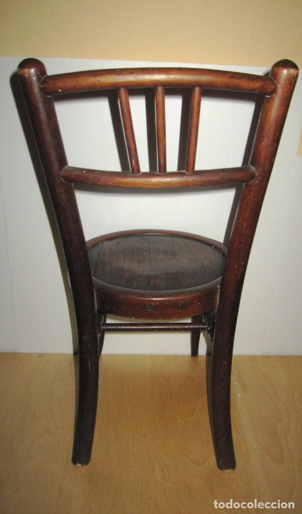 Antigüedades: Silla sillita antigua thonet madera Franco Tormo (1865-1941) - Foto 13 - 175021404
