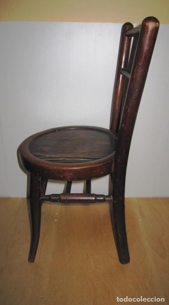 Antigüedades: Silla sillita antigua thonet madera Franco Tormo (1865-1941) - Foto 14 - 175021404