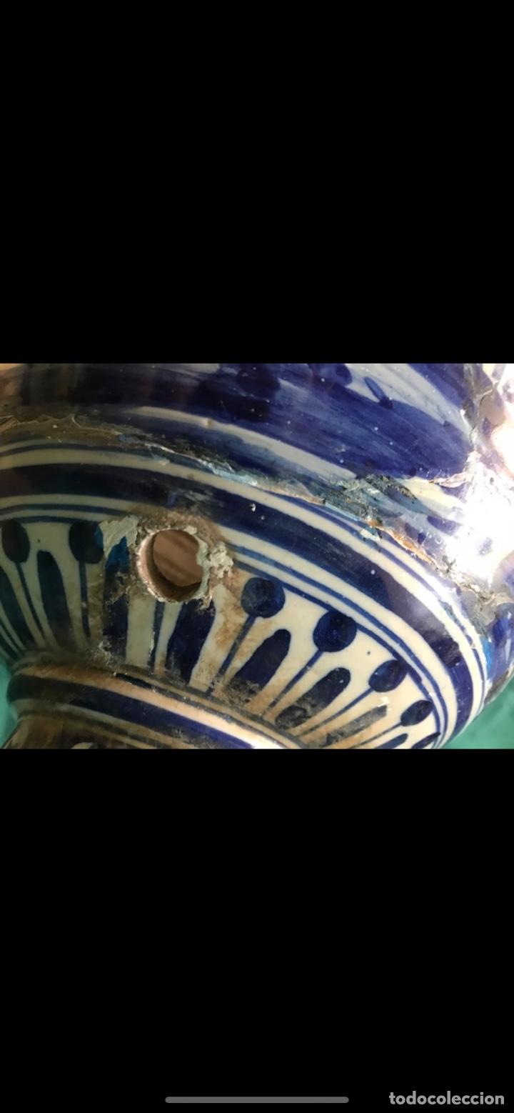 Antigüedades: Jarrón Ruiz de Luna Talavera - Foto 12 - 175027642