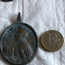 Antigüedades: MAGNIFICA MEDALLA RELIGIOSA, SIGLO XVIII. Lote 175029888
