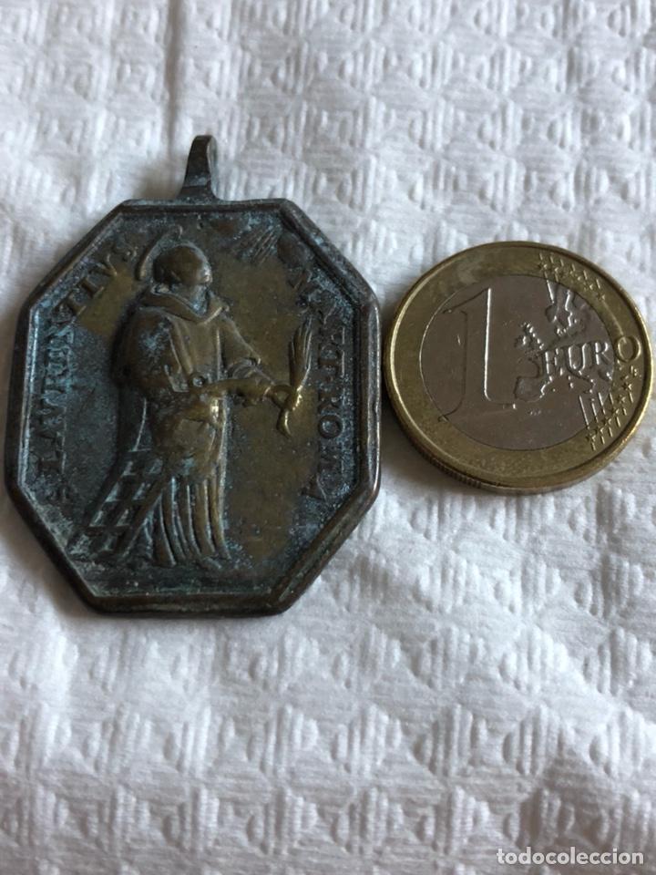 MAGNIFICA MEDALLA RELIGIOSA, SIGLO XVIII (Antigüedades - Religiosas - Medallas Antiguas)