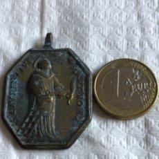 Antigüedades: MAGNIFICA MEDALLA RELIGIOSA, SIGLO XVIII. Lote 175029933