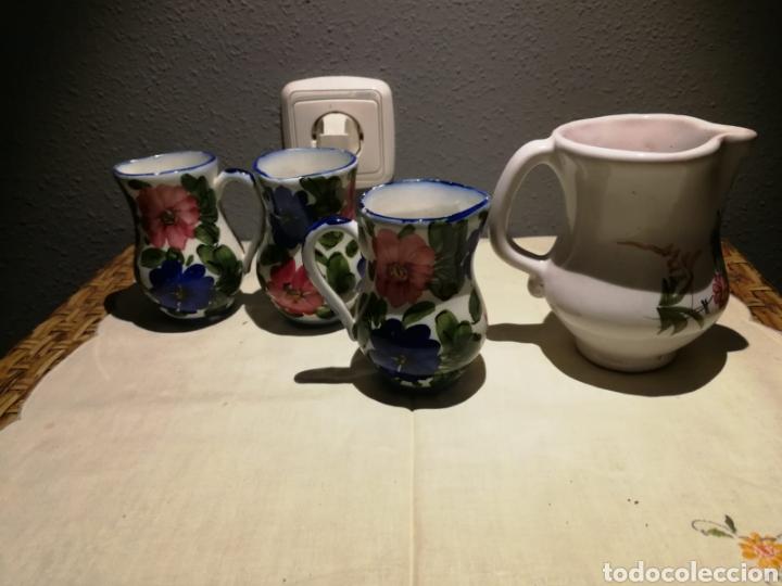 Antigüedades: Lote de jarritas porcelana de lario - Foto 2 - 175033780