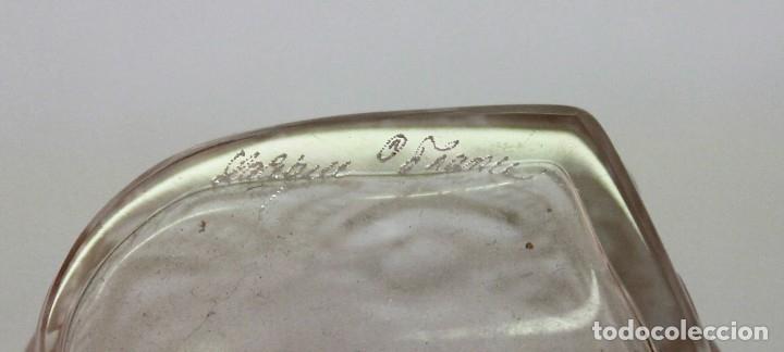 Antigüedades: JARRÓN EN CRISTAL FIRMADO LALIQUE FRANCE AMOUR LOVE CON CORAZONES AMOR FRANCIA - Foto 8 - 175040814