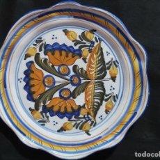 Antigüedades: ANTIGUO PLATO DE CERÁMICA DE TALAVERA (26 CM DE DIÁMETRO). NIVEIRO.. Lote 175045910