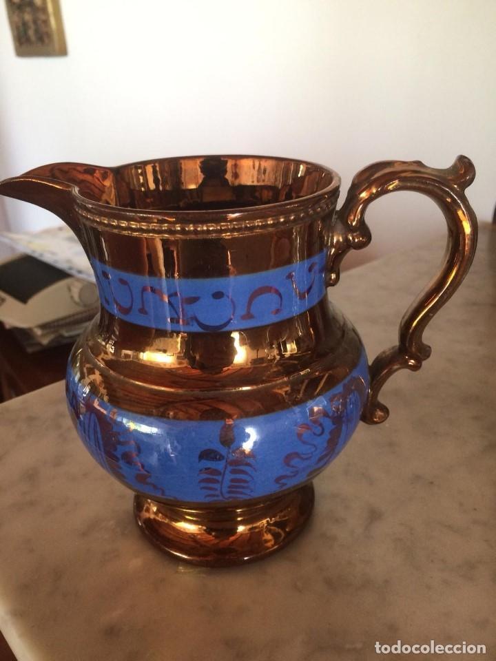 JARRA BRISTOL (Antigüedades - Porcelanas y Cerámicas - Inglesa, Bristol y Otros)