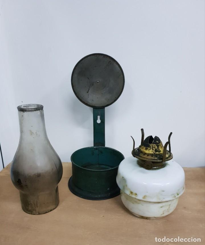 Antigüedades: QUINQUE DE PARED - Foto 3 - 175118299