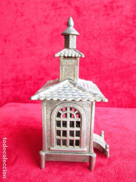 Antigüedades: HUCHA BANCO DESMONTABLE EN ACERO. CIRCA 1890 - Foto 3 - 175128957
