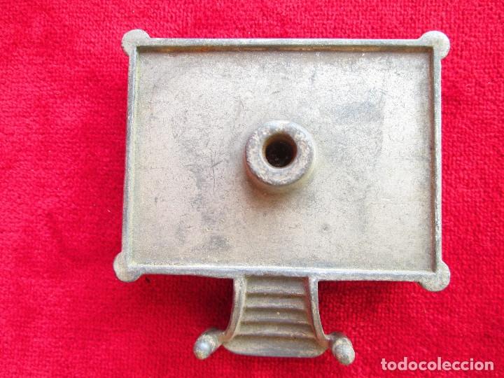 Antigüedades: HUCHA BANCO DESMONTABLE EN ACERO. CIRCA 1890 - Foto 8 - 175128957
