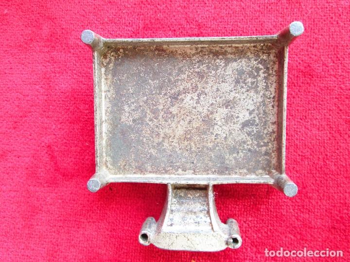 Antigüedades: HUCHA BANCO DESMONTABLE EN ACERO. CIRCA 1890 - Foto 9 - 175128957