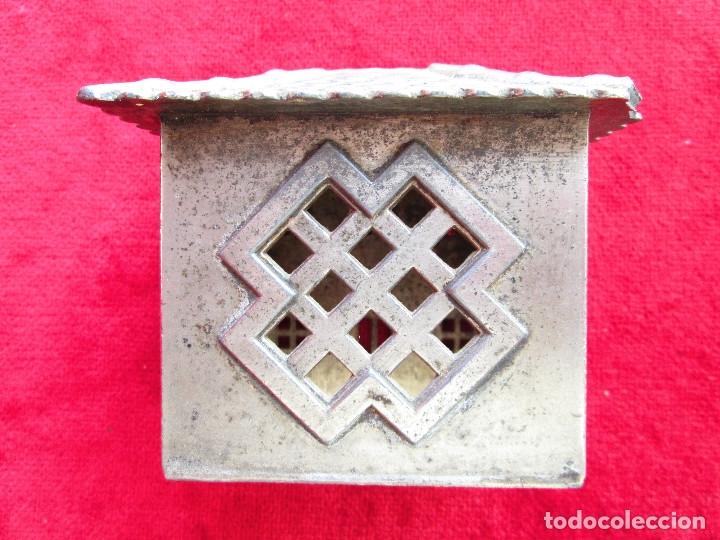Antigüedades: HUCHA BANCO DESMONTABLE EN ACERO. CIRCA 1890 - Foto 10 - 175128957