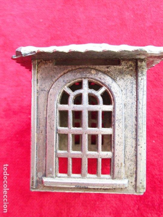 Antigüedades: HUCHA BANCO DESMONTABLE EN ACERO. CIRCA 1890 - Foto 11 - 175128957
