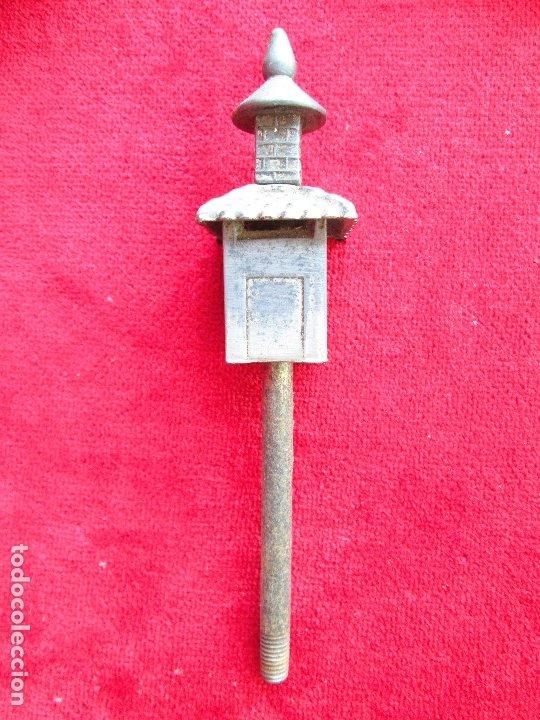 Antigüedades: HUCHA BANCO DESMONTABLE EN ACERO. CIRCA 1890 - Foto 17 - 175128957