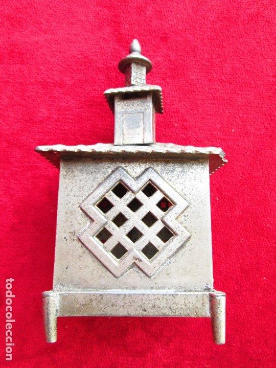 Antigüedades: HUCHA BANCO DESMONTABLE EN ACERO. CIRCA 1890 - Foto 18 - 175128957