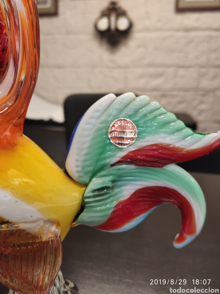 Antigüedades: Gallo de Murano - Foto 5 - 175135329