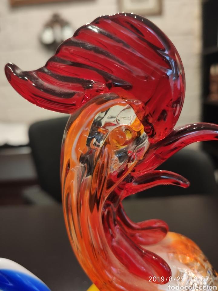 Antigüedades: Gallo de Murano - Foto 7 - 175135329