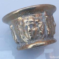 Antigüedades: ALMIREZ...MORTERO DE COLUMNAS Y CARAS....XVIII. Lote 175137093
