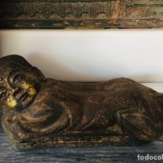 Antigüedades: PAREJA REPOSA CABEZA OPIO / OPIUMKISSEN / NECKREST OPIUM. Lote 175140344