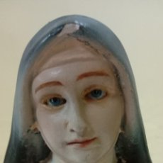 Antigüedades: EXCELENTE BUSTO TERESA DE LISEAUX MEDIDAS 21 CM. Lote 175143867