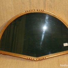Antigüedades: ABANIQUERA MADERA DORADA. Lote 175180992