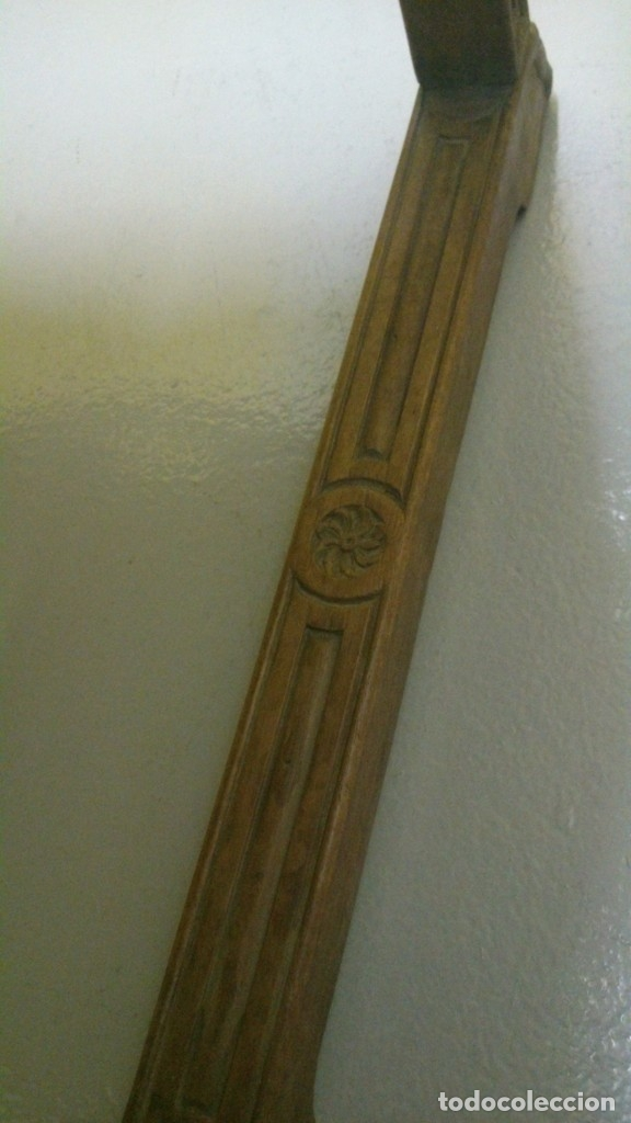 Antigüedades: Sillón Frailero S. XVII en nogal tallado - Foto 5 - 175183059