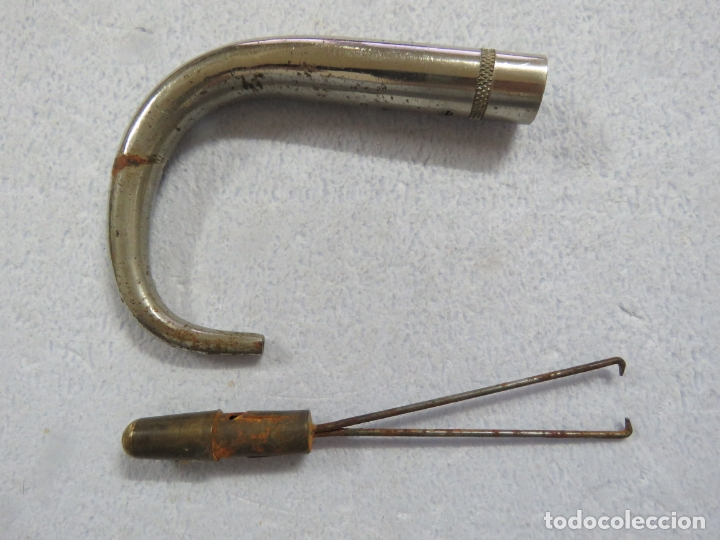 Antigüedades: BASTON DE DOBLE USO - Foto 11 - 175198540