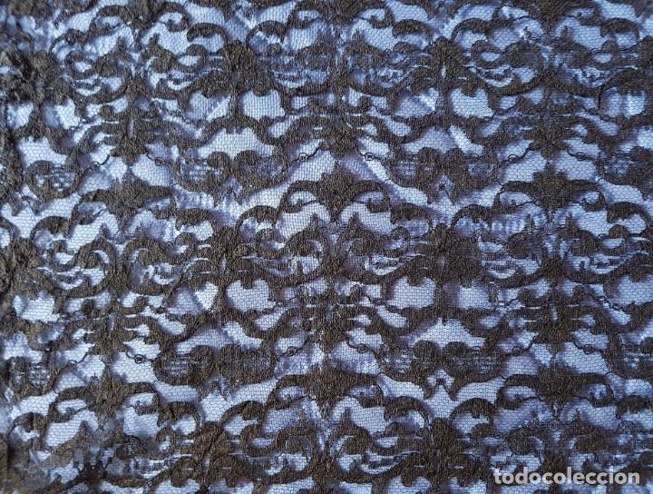 Antigüedades: == LA80 - PRECIOSA MANILLA NEGRA - 180 X 74 CM. - Foto 2 - 175201543