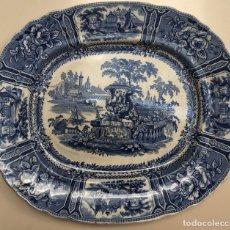 Antigüedades: SARGADELOS - FUENTE AZUL - SERIE GÓNDOLA - S. XIX. Lote 175211199