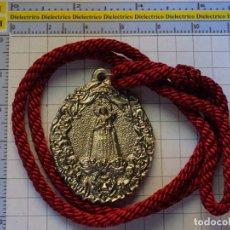Antigüedades: MEDALLA MEDALLÓN RELIGIOSO SEMANA SANTA MÁLAGA. CRISTO REDENCIÓN Y NTRA SRA DOLORES 80 GR. Lote 175231777