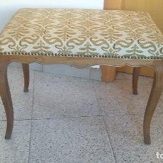 Antigüedades: BANQUETA DESCALZADORA. Lote 175236769
