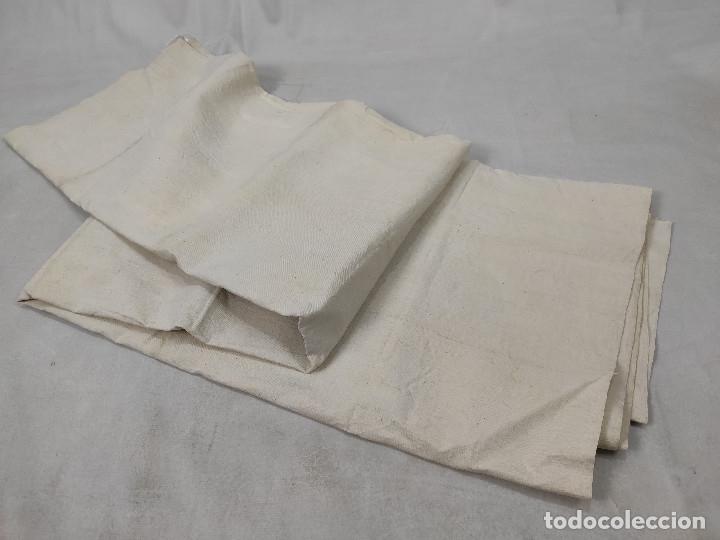 Antigüedades: Tejido de lino antiguo - Foto 2 - 175258245