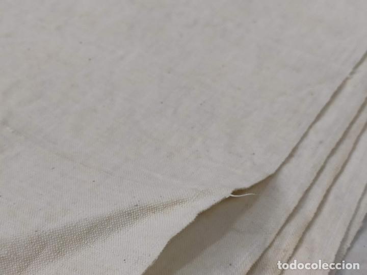 Antigüedades: Tejido de lino antiguo - Foto 3 - 175258245