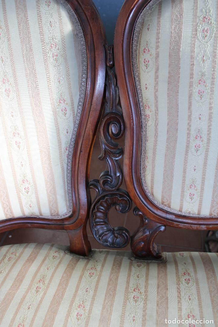 Antigüedades: sofa y sillón estilo Luis XV - Foto 8 - 175258265