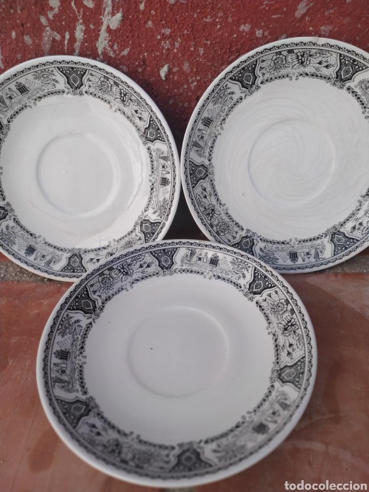PLATOS SEGOVIA GV (Antigüedades - Porcelanas y Cerámicas - Otras)