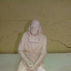 Antigüedades: EXCELENTE FIGURA DE PESEBRE MEDIDAS 17 CM. Lote 175264887