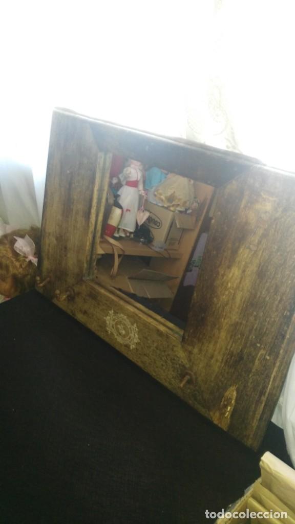 Antigüedades: Antiguo espejo - Foto 2 - 175271408
