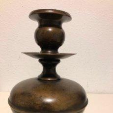 Antigüedades: CANDELERO ESPAÑOL SIGLO XVIII. Lote 175290152