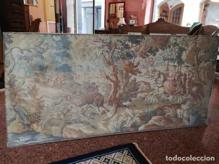 TAPIZ (Antigüedades - Hogar y Decoración - Tapices Antiguos)