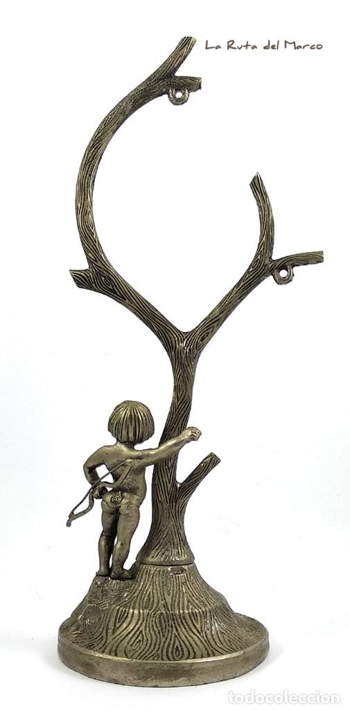 Antigüedades: Portarretratos de metal - Cupido - Portafotos - Árbol - Foto 5 - 175328112