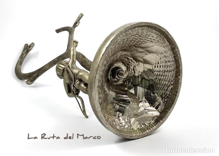 Antigüedades: Portarretratos de metal - Cupido - Portafotos - Árbol - Foto 8 - 175328112