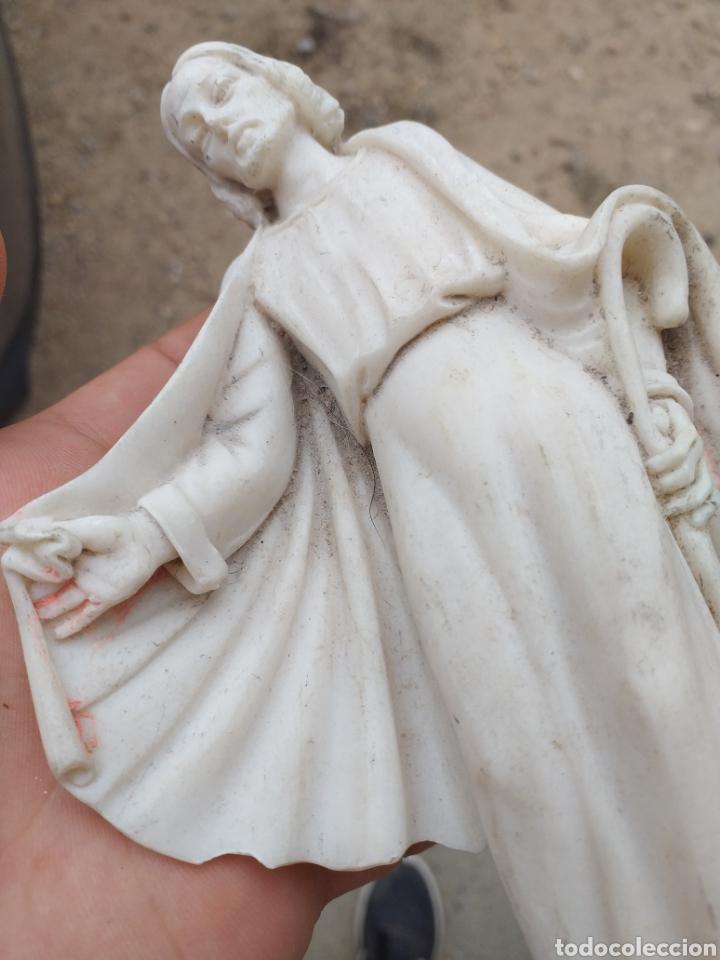 Antigüedades: FIGURA JESUS - Foto 5 - 175343637