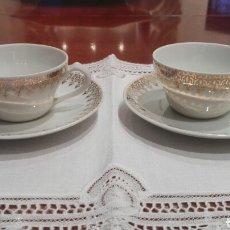 Antigüedades: TAZAS DE CAFÉ, AÑOS 50, SANTA CLARA.. Lote 175345750